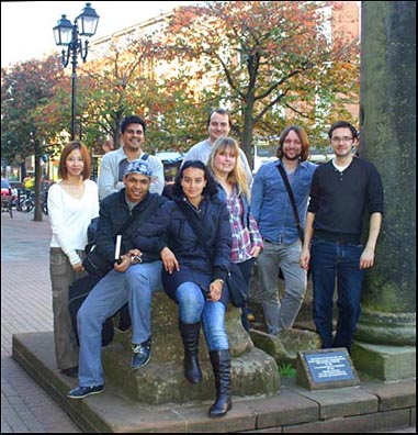architecture students in Chester